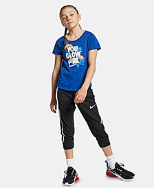 Big Girls Sportswear Cotton Capris