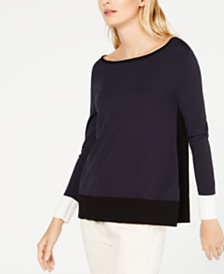 Weekend Max Mara Robinia Boat-Neck Sweater