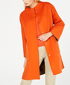 Drava Reversible Dolman-Sleeve Coat