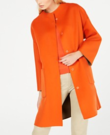 Weekend Max Mara Reversible Wool Coat
