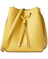 73a4ad0038ee Lauren Ralph Lauren Dryden Debby II Mini Leather Drawstring Bag