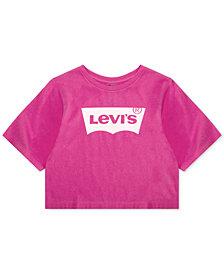 Levi's® Little Girls Neon High-Rise Cotton T-Shirt