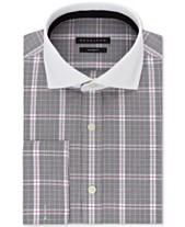 4e5187d7c759 Sean John Men's Classic/Regular-Fit Check French Cuff Dress Shirt