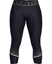 3ed18e410df24 Under Armour Men's HeatGear® Cropped Compression Leggings
