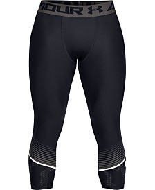 Under Armour Men's HeatGear® Cropped Compression Leggings