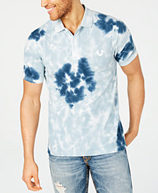True Religion Men's Crafted With Pride Tie Dye Polo