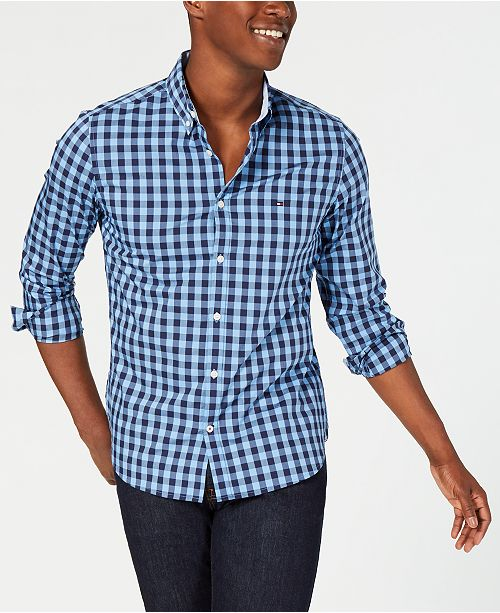 Tommy Hilfiger Men's Rashford Gingham Shirt