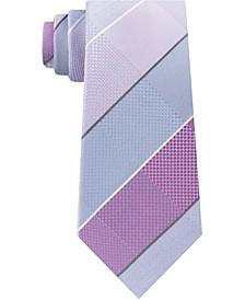 Men's Ted Grid Slim Tie