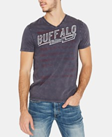 Buffalo David Bitton Men's Logo Graphic T-Shirt