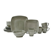 Forge Taupe 16 Piece Dinnerware Set