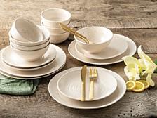 Siterra White 16 Piece Dinnerware Set