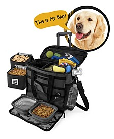Dog Gear Rolling Week Away Bag