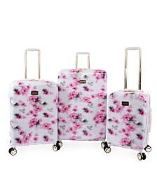 Bebe Juliette 3-Piece Spinner Luggage Set