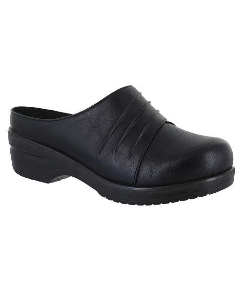 d1529b5a62ebe Easy Street Oren Comfort Clogs   Reviews - Ladies Shoes - SLP - Macy s