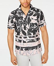 INC Men's Frag Pattern Shirt, Created for Macy's