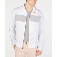 Macys deals on I.N.C. Mens Pieced Zip Jacket