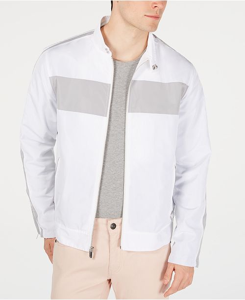 INC International Concepts I.N.C. Men's Pieced Zip Jacket, Created for Macy's
