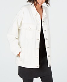 Eileen Fisher Oversized Classic Jean Jacket