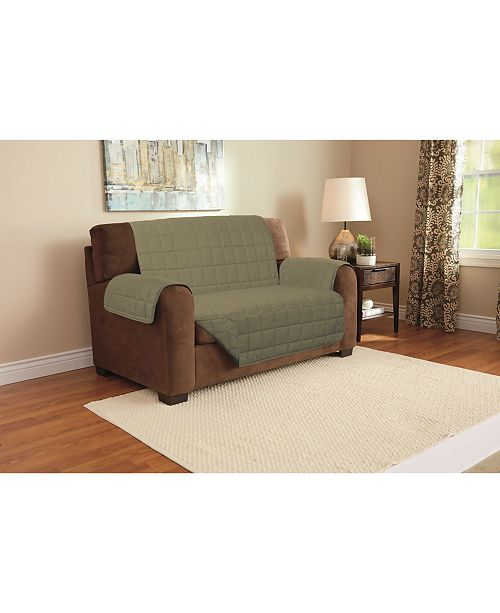Harper Lane Furniture Protector Love Seat - Slipcovers - Home - Macy s 2d54185252