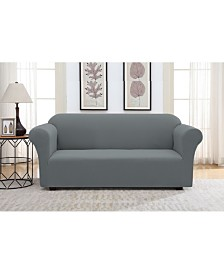 Solid Slipcover Love Seat