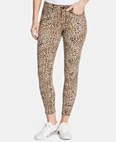 a8b20dbdc7a51 WILLIAM RAST Animal-Print Ankle Skinny Jeans