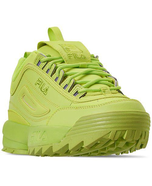 b43d778ba945f7 Fila Women's Disruptor II Premium Casual Athletic Sneakers from Finish ...