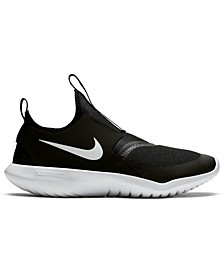 Big Kids Flex Runner Slip-On Athletic Sneakers from Finish Line