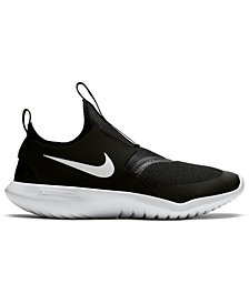 Nike Boys' Flex Runner Slip-On Athletic Sneakers from Finish Line