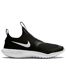 Nike Boys' Flex Runner Slip-On Athletic Sneakers from Finish Line