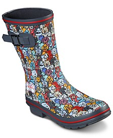 Women's Bobs for Dogs Rain Check - April Showers Boots from Finish Line