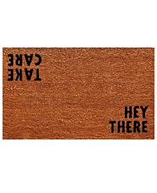"Hey There 17"" x 29"" Coir/Vinyl Doormat"