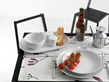 Rosentha Moon White Dinnerware Collection