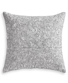 "Hotel Collection Metallic Stone 20"" x 20"" Decorative Pillow, Created for Macy's"