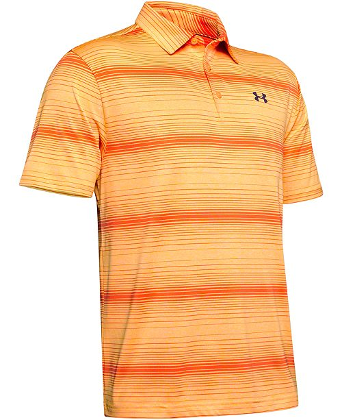 Under Armour Men's multi stripe Playoff Polo