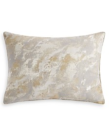 Hotel Collection Metallic Stone Standard Sham, Created for Macy's