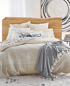 Bali Batik Cotton 230-Thread Count 3-Pc. Full/Queen Duvet Cover Set, Created for Macy's