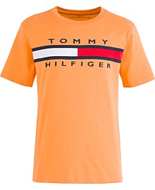 Tommy Hilfiger Little Boys Signature Logo T-Shirt