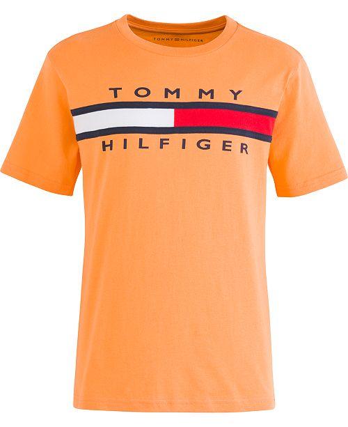 Tommy Hilfiger Toddler Boys Signature Logo T-Shirt