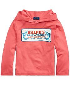 Polo Ralph Lauren Toddler Boys Cotton Jersey Hooded Graphic T-Shirt