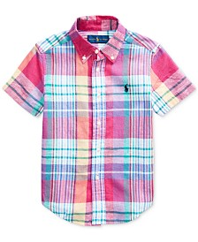Polo Ralph Lauren Little Boys Cotton Madras Shirt