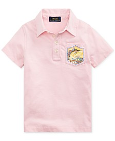Polo Ralph Lauren Toddler Boys Marlin Cotton Jersey Polo Shirt