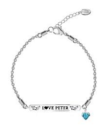 Beatrix Potter Children's Peter Rabbit ID Charm Bracelet