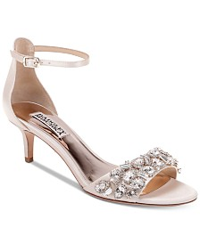 Badgley Mischka Lara Evening Shoes