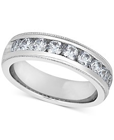 Diamond Milgrain Band (1 ct. t.w.)