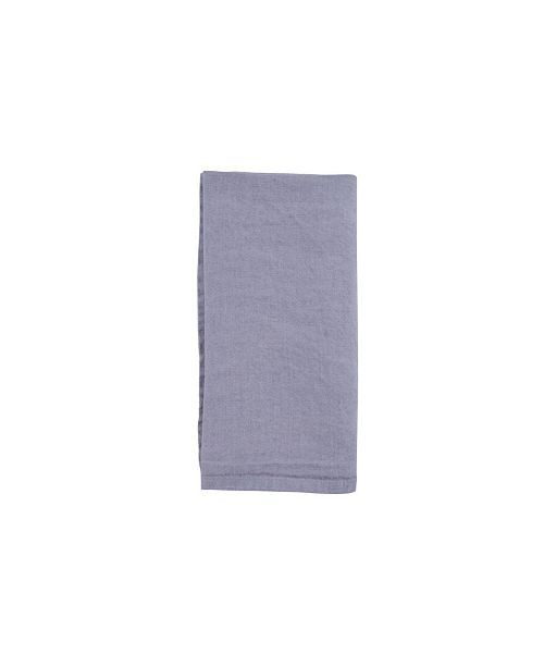 Canvas Home Stone Washed French Linen Napkin - Set of 4