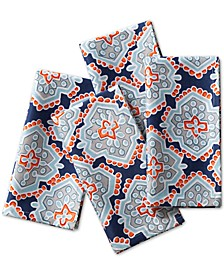 Artistic Geo Navy Napkins, Set of 4