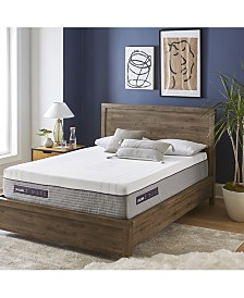 "Purple .3 12"" Cushion Firm Mattress - California King"