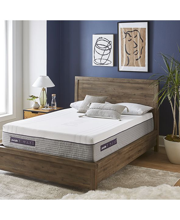 "Purple .3 Hybrid Premier 12"" Mattress - King"
