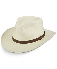 Dorfman Pacific Men's Panama Outback Hat