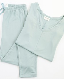 Delilah Short Sleeve Loungewear Set